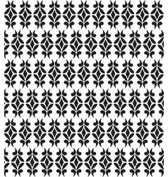 art deco geometric pattern in dark black texture vector image