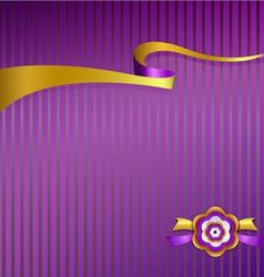 Ribbon 2 vector image vector image