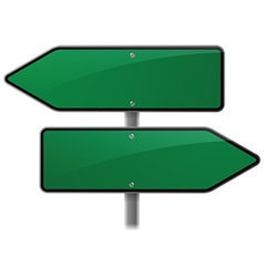 Arrow Sign Choice vector image vector image