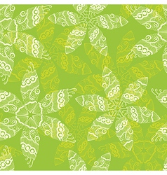 Floral seamless texture Spring flowers pattern vector image
