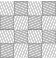 Abstract Striped Squares Geometric Seamless vector image