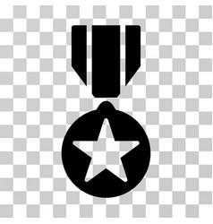 Army star award icon vector