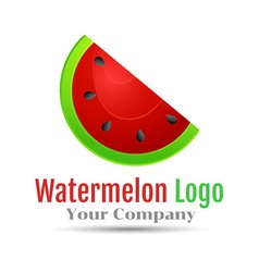 Bright juicy brand name emblem Hand drawn logotype vector