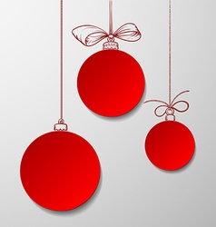 Christmas balls Stock vector
