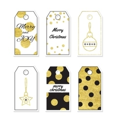 Christmas Tag Set vector