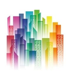 City design Urban Buildings concept vector