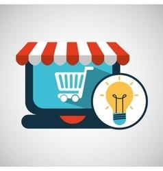E-commerce concept idea creativity icon vector