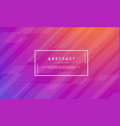 modern purple orange abstract background vector image