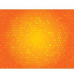 Orange geometric background Abstract pattern vector image