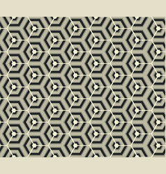 Retro wallpaper - vintage pattern black and white vector