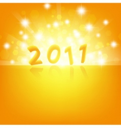 2011 new year vector image