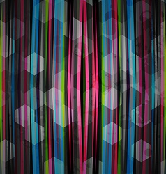 abstract neon pattern vector image