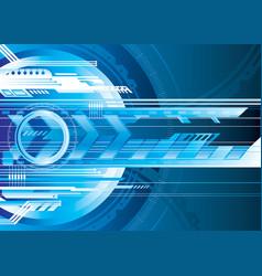 digital tech vector image