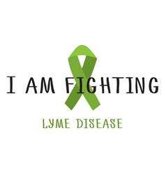 stop lyme disease vector image vector image