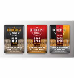 2017 oktoberfest beer festival advertisement vector