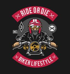 Biker vector