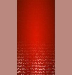 Binary code screen vector
