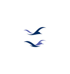 bird logo icon vector image