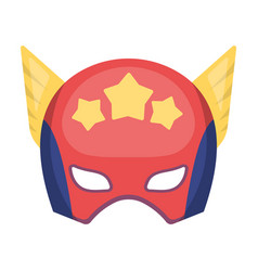 Helmet single icon in cartoon stylehelmet vector