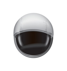 helmet spacesuit poster vector image