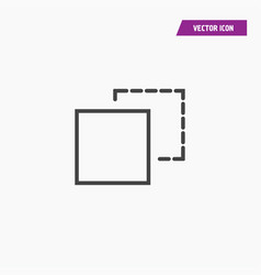 Image resize icon isolated vector