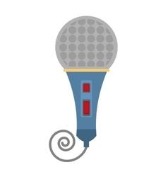 Microphone present show vector