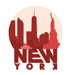 New York icon vector image