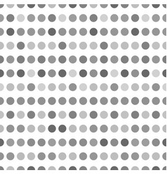 Pattern with circles dotted background seamlessly vector