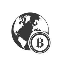 planet money financial commerce design vector image