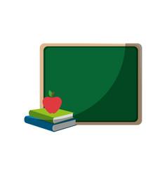 school chalkboard icon vector image