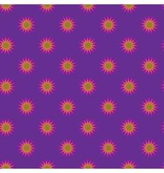 Stars geometric seamless pattern 3307 vector image