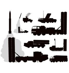 Military Anti-air vector image vector image
