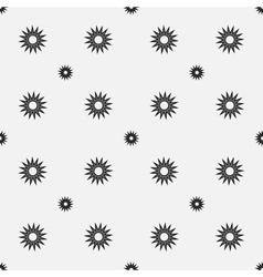 Stars geometric seamless pattern 3407 vector image