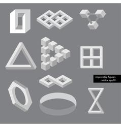 Optical symbols vector image vector image