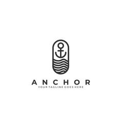 Anchor template vector