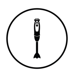 Hand blender icon vector image