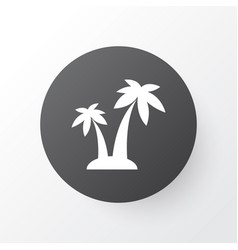 palms icon symbol premium quality isolated trees vector image
