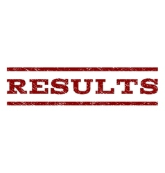 Results Watermark Stamp vector