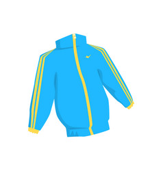 Sport jacket cartoon vector