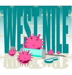 West nile disease vector