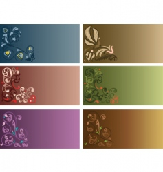 decor background vector image vector image
