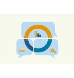 Infographics Elements bubble vector image