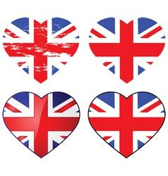 love uk vector image
