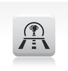 race premium icon vector image vector image
