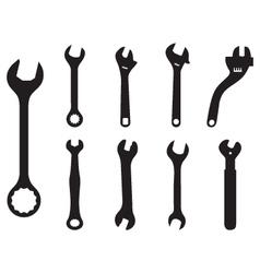 screw wrench vector image