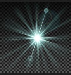 Lighting spark vector