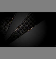 Abstract dark background with overlap texture vector