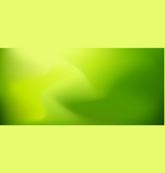 abstract nature green blurred background with vector image