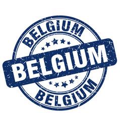 Belgium stamp vector