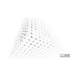 cube icon bright creative background vector image